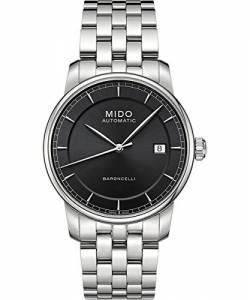 [ミドー]Mido  M86004131 Watch II Grey Dial Stainless Steel Case Automatic Movement Baroncelli