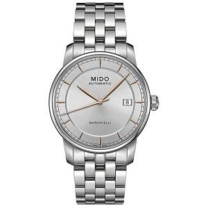 [ミドー]Mido M86004101 Watch II M8600.4.10.1 Silver Dial Stainless Steel Case Baroncelli