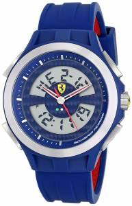 [フェラーリ]Ferrari 腕時計 AnalogDigital Display Analog Quartz Blue Watch 830074 メンズ