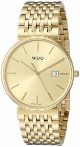 [ミドー]Mido 腕時計 Dorada Analog Display Quartz Gold Watch MIDO-M0096103302100 メンズ