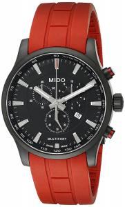 [ミドー]Mido  Multifort Analog Display Quartz Red Watch MIDO-M0054173705140 レディース