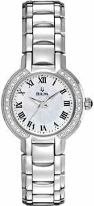 [ブローバ]Bulova Watch 96R159 Dress Stainless Steel Mother of Pearl Diamond Dress Wa ADX26912461