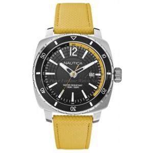 [ノーティカ]Nautica 腕時計 Watch A13634G XL Analog Quartz Leather HDG021.11 メンズ