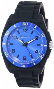 [ブローバ]Bulova  Caravelle New York Analog Display Japanese Quartz Black Watch 45A116