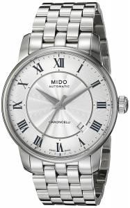 [ミドー]Mido  Baroncelli Analog Display Swiss Automatic Silver Watch MIDO-M86004211 メンズ