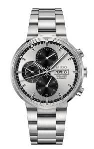 [ミドー]Mido Watch Commander II M014.414.11.031.09 Silver Dial Stainless Steel M0144141103109