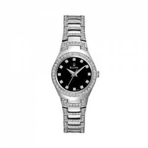 [ブローバ]Bulova 腕時計 Watch Crystal Stainless Steel 96L170 96L170K レディース