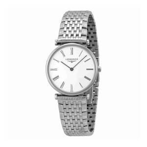 [ロンジン]Longines  La Grande White Dial Stainless Steel Watch L45124116 L4.512.4.11.6