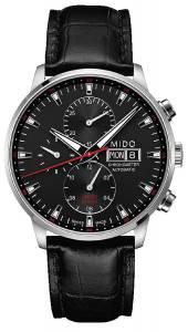 [ミドー]Mido  M0164151605100 Watch Commander Black Dial Automatic Movement M016.415.16.051.00