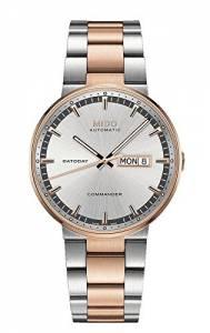[ミドー]Mido 腕時計 Commander II Automatic Swiss Watch Silver Rose Gold M0144302203100