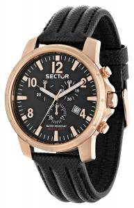 [セクター]Sector 腕時計 Action Analog Display Quartz Black Watch R3271689003 メンズ