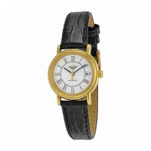 [ロンジン]Longines Presence Automatic White Dial Black Leather Watch Longines-L43212112