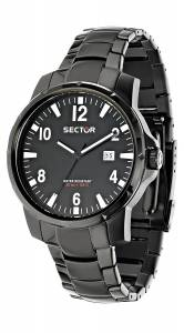 [セクター]Sector 腕時計 Action Analog Display Quartz Black Watch R3253189002 メンズ