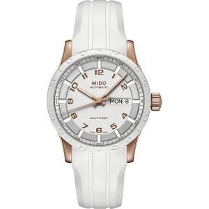 [ミドー]Mido 腕時計 Swiss Automatic M0188303701200 wrist watch white dial Multifort