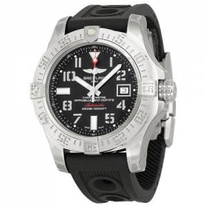 [ブライトリング]Breitling Avenger II Seawolf Automatic Black Dial Ruber A1733110-BC31BKOR