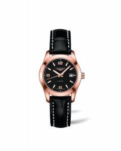 [ロンジン]Longines 腕時計 Conquest Classic Automatic Leather Watch L22858563 L2.285.8.56.3