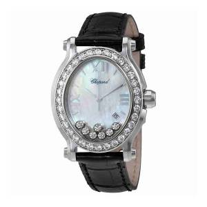 [ショパール]Chopard  Happy Sport Diamonds Mother of Pearl Dial Watch 2785463002 278546-3002