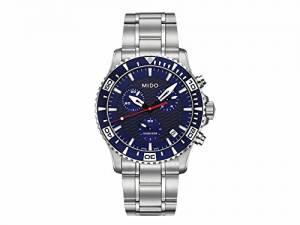 [ミドー]Mido 腕時計 Watch Ocean Star Blue Dial Quartz Movement M0114171104102 メンズ