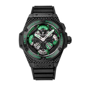 [ウブロ]Hublot  King Power GMT Chronograph Black Dial Watch 771.QX.1179.RX.CSH13 メンズ