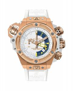 [ウブロ]Hublot King Power Oceanographic White Dial Chronograph Watch 732OE2180RW 732.OE.2180.RW