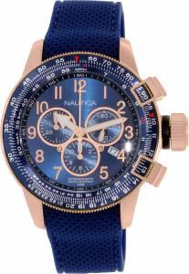 [ノーティカ]Nautica  BFC Chrono Analog Display Japanese Quartz Blue Watch NAD28500G メンズ