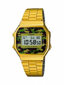 [カシオ]Casio 腕時計 Watch Collection Multicolour A168WEGC-3EF ユニセックス [逆輸入]