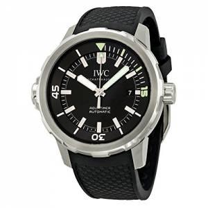[アイダブルシー]IWC 腕時計 Aquatimer Black Dial Black Rubber Watch IW329001 メンズ