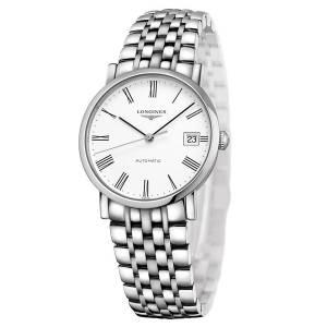 [ロンジン]Longines 腕時計 Elegant White Dial Automatic Steel Watch L4.809.4.11.6 L48094116