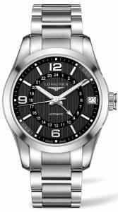 [ロンジン]Longines  Conquest Classic Eddie Peng Black Dial Automatic GMT Watch L27994566