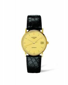 [ロンジン]Longines 腕時計 Presence Champagne Dial Automatic Watch L4.744.6.32.0