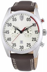 [フェラーリ]Ferrari  Scuderia 0830174 graph Champagne Brown Watch D50 Chrono メンズ
