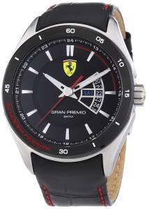 [フェラーリ]Ferrari 腕時計 Scuderia 0830183 Black Watch GRAN PREMIO メンズ