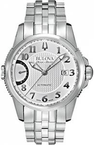 [ブローバ]Bulova 腕時計 Accu Swiss Accu Swiss Silver Steel Bracelet Watch 63B172 メンズ