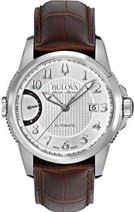 [ブローバ]Bulova 腕時計 Accu Swiss Accu Swiss Brown Leather Strap Watch 63B171 メンズ