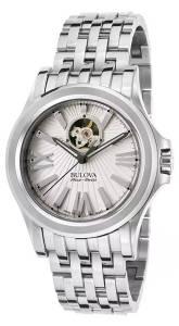 [ブローバ]Bulova  'Kirkwood' Swiss Stainless Steel Automatic Watch, Color:SilverToned 63A125