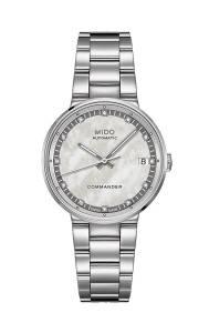 [ミドー]Mido Commander II Watch M014.207.11.116.00 Silver Dial Stainless Steel M0142071111600