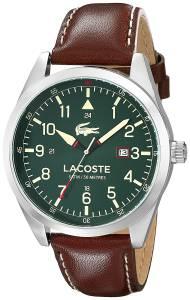 [ラコステ]Lacoste  Montreal Analog Display Japanese Quartz Brown Watch 2010781 メンズ