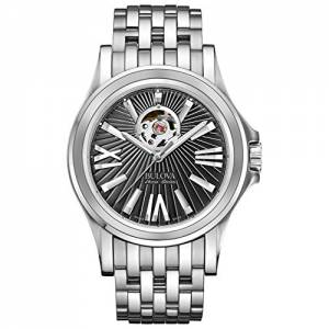 [ブローバ]Bulova 腕時計 AccuSwiss Kirkwood Black Dial Watch 63A126 メンズ