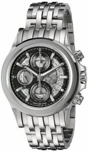 [ブローバ]Bulova  'Kirkwood' Swiss Automatic Stainless Steel Casual Watch 63B170 メンズ