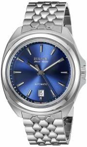 [ブローバ]Bulova  Bulova Analog Display Automatic Self Wind Silver Watch 63B186 メンズ