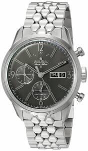 [ブローバ]Bulova 腕時計 Stainless Steel Automatic Watch 63C119 メンズ [並行輸入品]