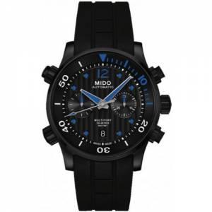 [ミドー]Mido 腕時計 Multifort Chronograph Black Dial Automatic Watch M0059143705000 メンズ