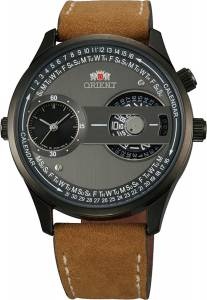 [オリエント]Orient  Dual Time Zone Automatic Quartz Combination Analog Watch FXC00001B