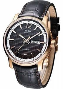 [ミドー]Mido Great Wall Watch Brown Dial Stainless Steel Case Automatic Movement M0196313629700