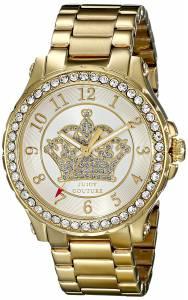 [ジューシークチュール]Juicy Couture  Pedigree Analog Display Quartz Gold Watch 1901232