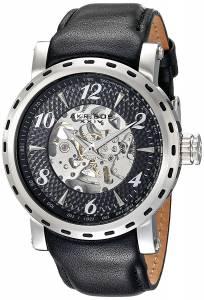 [アクリボス XXIV]Akribos XXIV  Analog Display Automatic Self Wind Black Watch AK698SSB