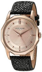 [アクリボス XXIV]Akribos XXIV  Analog Display Japanese Quartz Black Watch AK825RGB メンズ