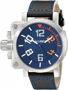 [ハウレックスイタリア]Haurex  Italy Gun Analog Display Quartz Black Watch 6A508UON