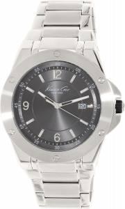 [ケネスコール]Kenneth Cole New York Slim Analog Display Japanese Quartz Silver Watch 10020832