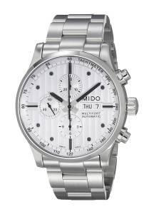 [ミドー]Mido  Multifort Analog Display Swiss Automatic Silver Watch MIDO-M0056141103100